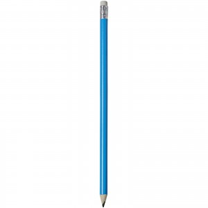 Alegra pencil with coloured barrel, Process Blue (10709804)