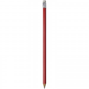 Alegra pencil with coloured barrel, Red (10709805)