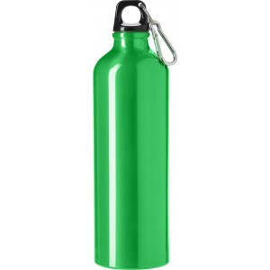 Aluminium flask (750 ml), lime (8695-19)