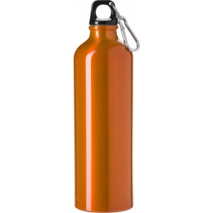 Aluminium flask (750 ml), orange (8695-07)