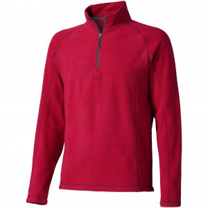 Bowlen polyfleece quarter zip, Red (3949425)