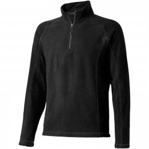 Bowlen polyfleece quarter zip, solid black (3949499)