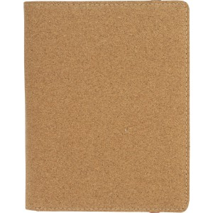 Cork portfolio, brown (Folders)