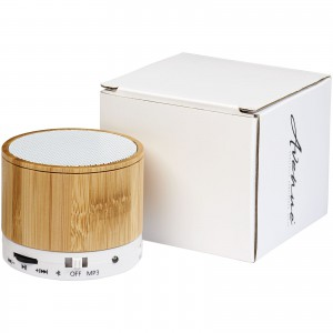 Cosmos bamboo Bluetooth? speaker, Wood/white (12410101)