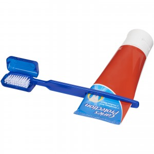 Dana toothbrush with squeezer, Blue (12613700)