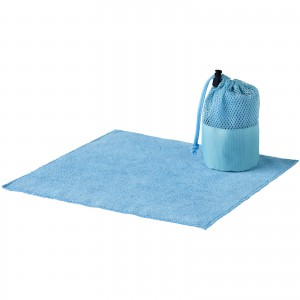 Diamond car cleaning towel and pouch, Blue (10033000)