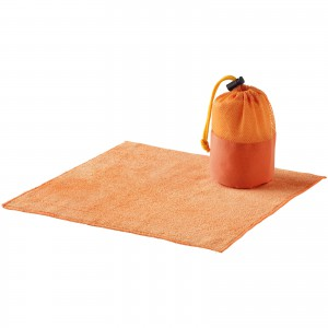 Diamond car cleaning towel and pouch, Orange (10033002)