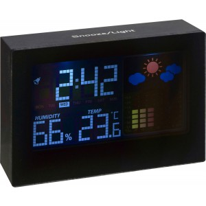 Digital weather station, black (4787-01)