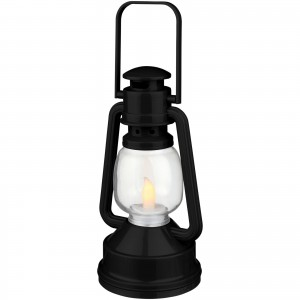 Emerald LED lantern light, solid black (10450100)