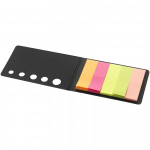 Fergason coloured sticky notes set, solid black (10627000)