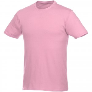 Heros short sleeve unisex t-shirt, Light pink (3802823)