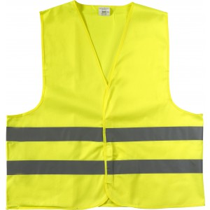 High visibility promotional safety jacket., yellow (6541-06M)