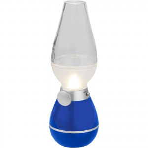 Hurricane lantern light with blow sensor, Royal blue (10448701)