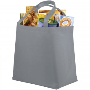 Maryville non-woven shopping tote bag, Grey (12009104)