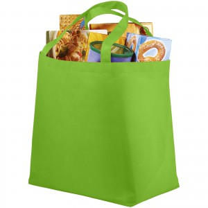 Maryville non-woven shopping tote bag, Lime (12009105)