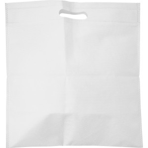 Nonwoven carry/document bag, white (7858-02)