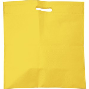 Nonwoven carry/document bag, yellow (7858-06)