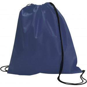 Nonwoven drawstring backpack, blue (6232-05CD)