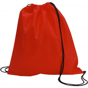 Nonwoven drawstring backpack, red (6232-08CD)