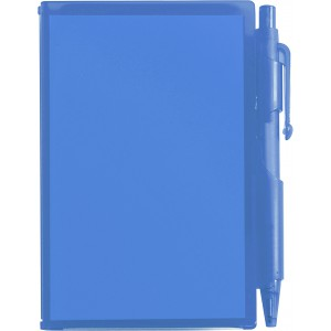Notebook with pen, blue (2736-05CD)