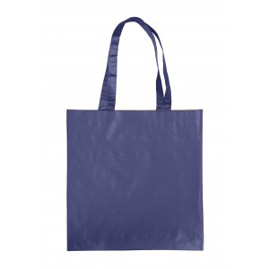 Paper carrying bag, blue (7845-05)