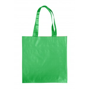 Paper carrying bag, green (7845-04)