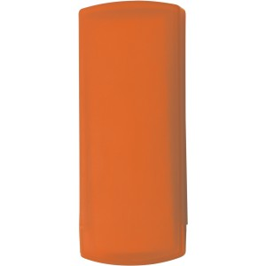 Plastic pocket case with five plasters, orange (1020-07)