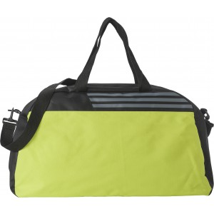 Polyester (600D ripstop) sports bag, lime (7677-19)