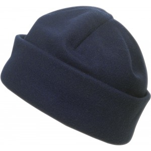 Polyester fleece beanie., blue (1741-05)