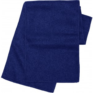 Polyester fleece scarf, blue (1743-05)