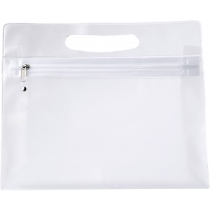 PVC Frosted toilet bag, neutral (6447-21CD)