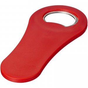 Rally magnetic drinking bottle opener, Red (11260802)