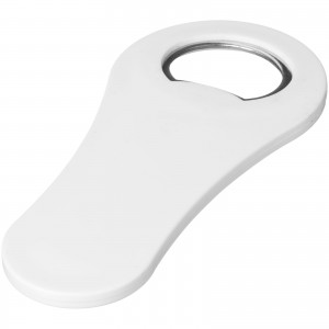 Rally magnetic drinking bottle opener, White (11260803)