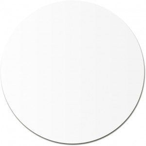 Round paper insert for item 5159, white (2376-02)