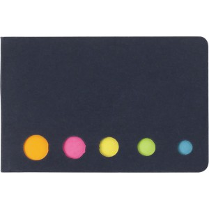 Self adhesive memo's, black (9104-01)