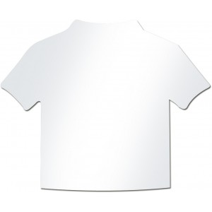 Shirt inserts for item 5157, white (2372-02)
