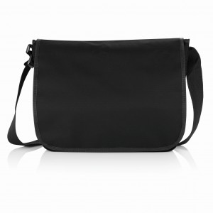 Shoulder document bag, black (P729.271)