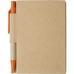 Small notebook, orange (6419-07)