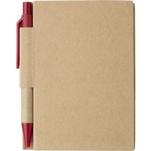 Small notebook, red (6419-08)