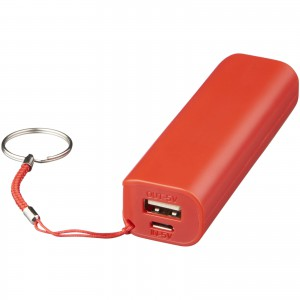Span 1200 mAh power bank, Red (13427703)