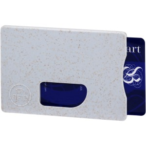 Straw RFID card holder, grey (13510101)