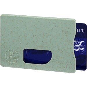 Straw RFID card holder, mint (13510103)