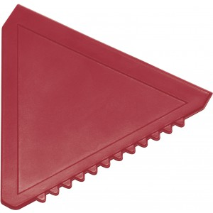 Triangular plastic ice scraper, red (8761-08)