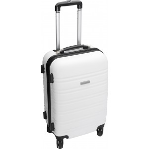 Trolley with four spinner wheels., white (5393-02)