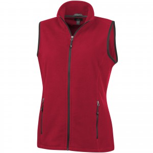 Tyndall micro fleece ladies Bodywarmer, Red (3942625)