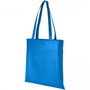 Zeus non woven convention tote, Process Blue (11941214)
